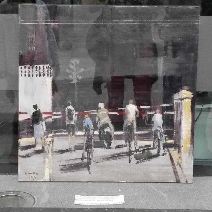 Ganador XLIX Concurso de pintura - zarautz