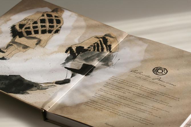 Ilustraciones para el catálogo «Colección Mexicano» de KEUNKA.