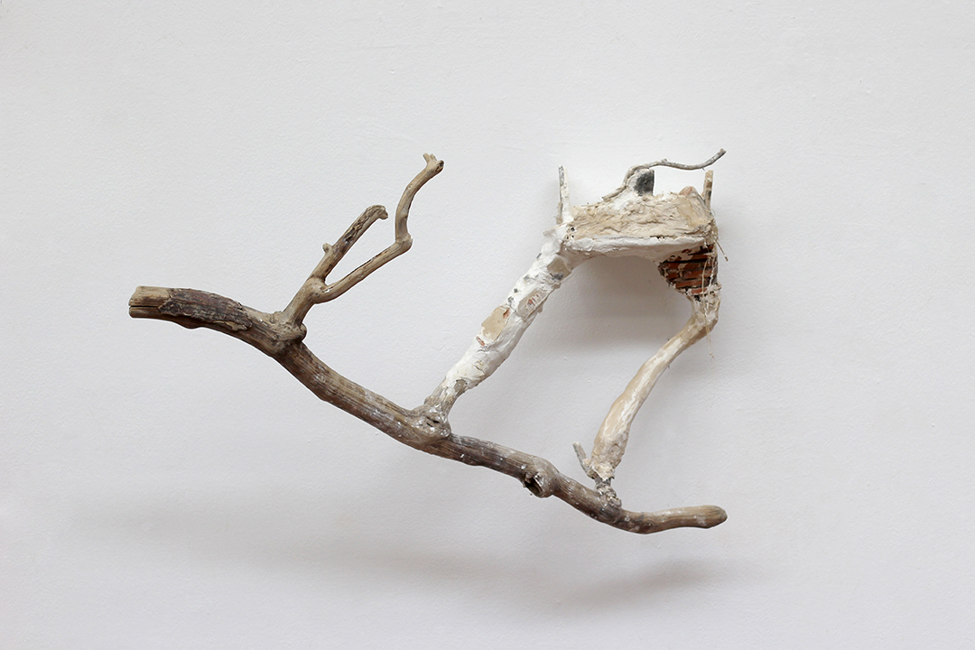 Casa en el árbol - Escultura